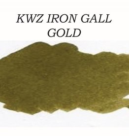 KWZ INK KWZ IRON GALL BOTTLED INK 60 ML GOLD