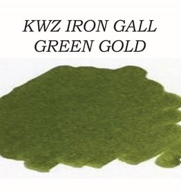 KWZ INK KWZ IRON GALL BOTTLED INK 60 ML GREEN GOLD