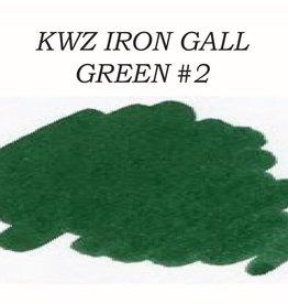 KWZ INK KWZ GREEN #2 - 60ML IRON GALL BOTTLED INK