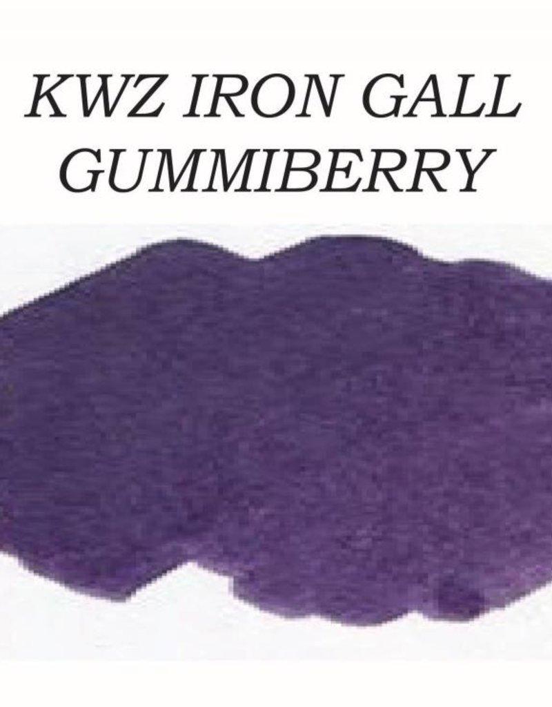 KWZ INK KWZ IRON GALL BOTTLED INK 60ML GUMMIBERRY