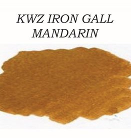 KWZ INK KWZ IRON GALL BOTTLED INK 60 ML MANDARIN