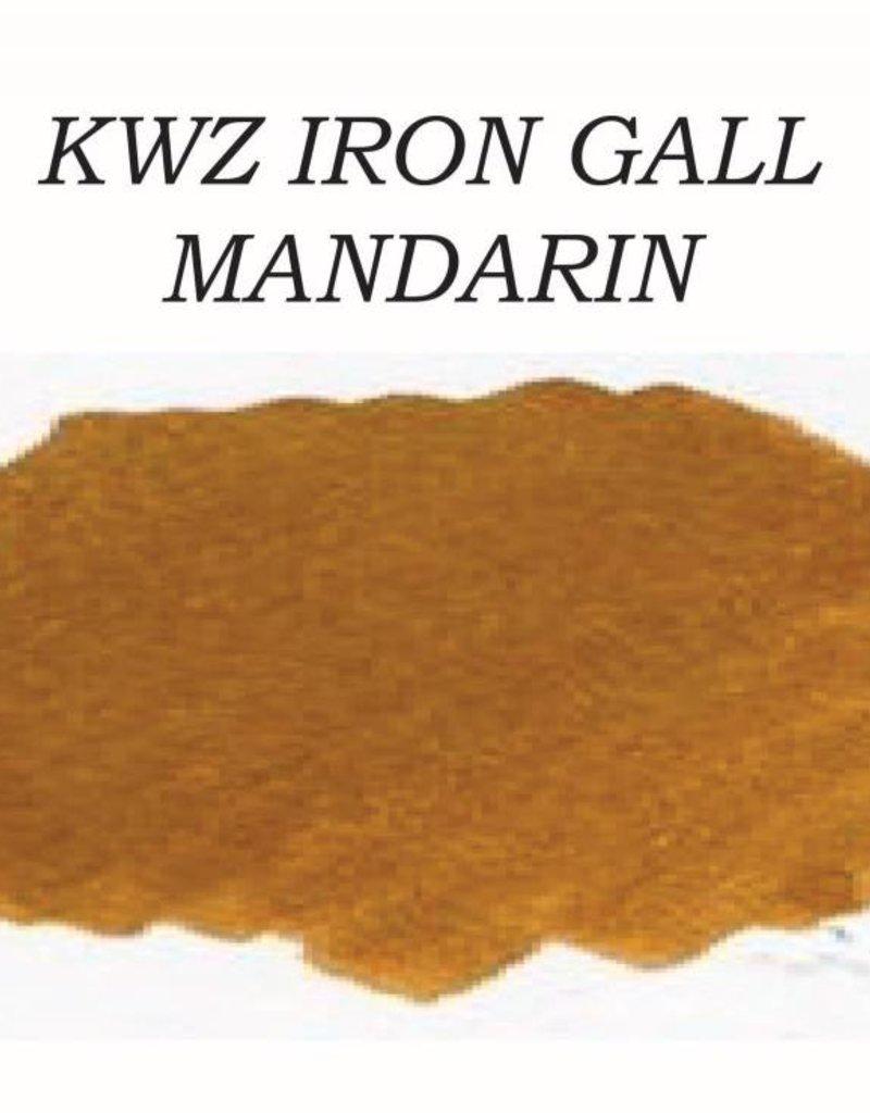 KWZ INK KWZ IRON GALL BOTTLED INK 60 ML MANDARIN