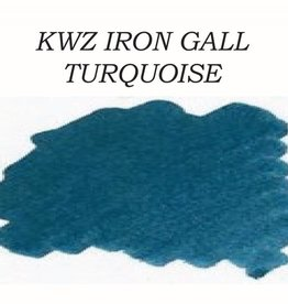 KWZ INK KWZ IRON GALL BOTTLED INK 60 ML TURQUOISE