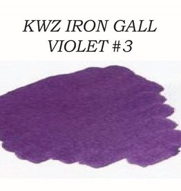 KWZ INK KWZ IRON GALL BOTTLED INK 60ML VIOLET #3