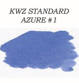 KWZ INK KWZ STANDARD BOTTLED INK 60ML AZURE #1