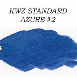KWZ INK KWZ STANDARD BOTTLED INK 60 ML AZURE #2