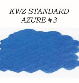 KWZ INK KWZ STANDARD BOTTLED INK 60 ML AZURE #3