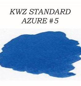 KWZ INK KWZ STANDARD BOTTLED INK 60ML AZURE #5