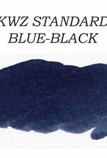 KWZ INK KWZ STANDARD BOTTLED INK 60 ML BLUE BLACK