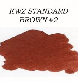 KWZ INK KWZ STANDARD BOTTLED INK 60ML BROWN #2