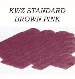 KWZ INK KWZ STANDARD BOTTLED INK 60ML BROWN PINK