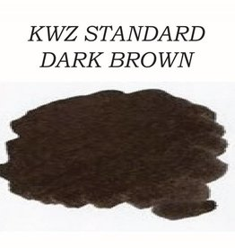 KWZ INK KWZ STANDARD BOTTLED INK 60ML DARK BROWN
