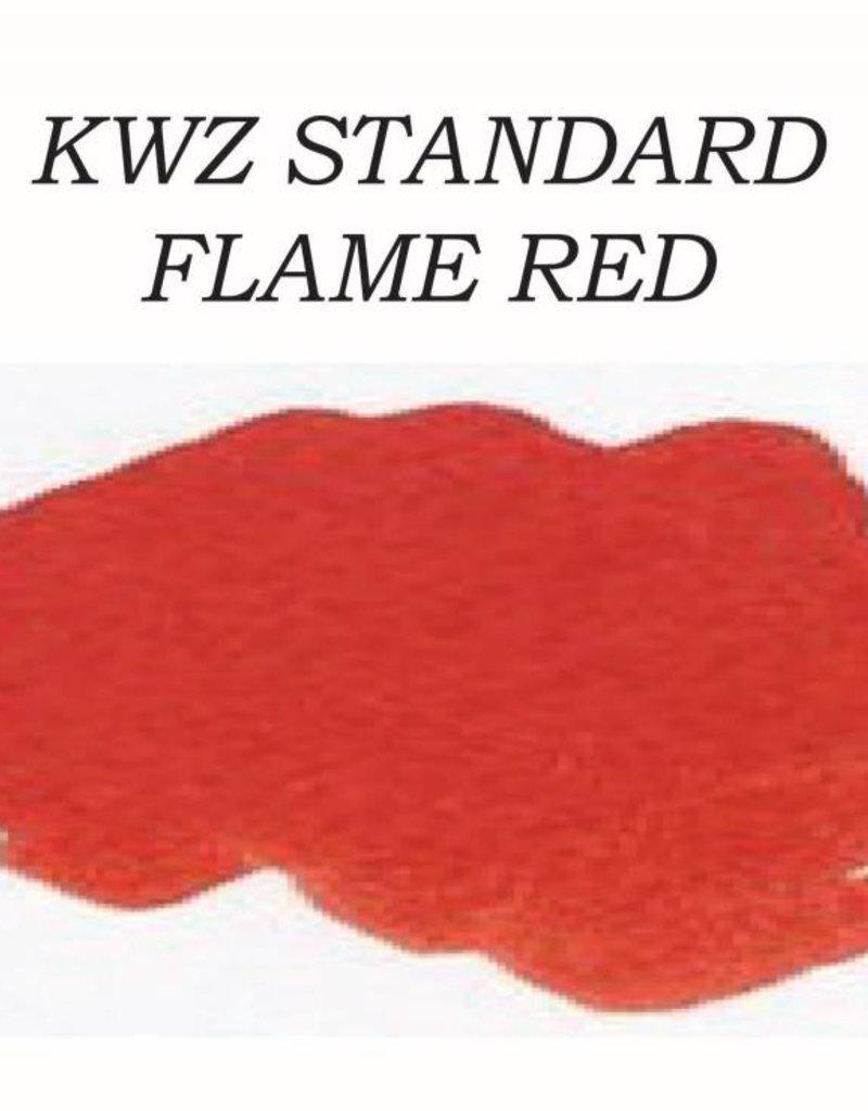 KWZ INK KWZ STANDARD BOTTLED INK 60 ML FLAME RED