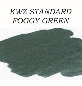 KWZ INK KWZ STANDARD BOTTLED INK 60 ML FOGGY GREEN