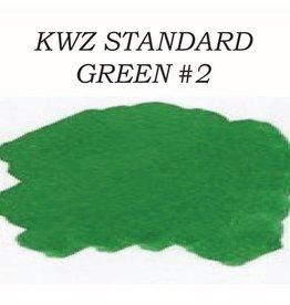KWZ INK KWZ STANDARD BOTTLED INK 60 ML GREEN #2