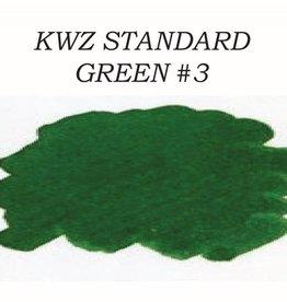 KWZ INK KWZ GREEN #3 - 60ML STANDARD BOTTLED INK