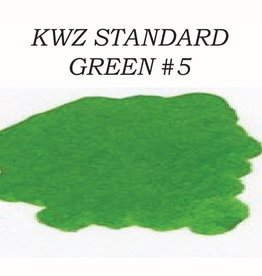 KWZ INK KWZ STANDARD BOTTLED INK 60 ML GREEN #5