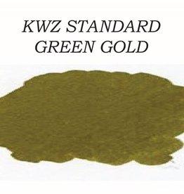KWZ INK KWZ STANDARD BOTTLED INK 60 ML GREEN GOLD