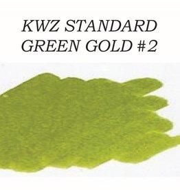 KWZ INK KWZ GREEN GOLD #2 - 60ML STANDARD BOTTLED INK