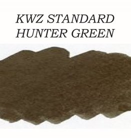 KWZ INK KWZ STANDARD BOTTLED INK 60 ML HUNTER GREEN