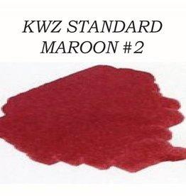 KWZ INK KWZ MAROON #2 - 60ML STANDARD BOTTLED INK