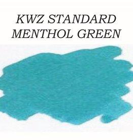 KWZ INK KWZ STANDARD BOTTLED INK 60ML MENTHOL GREEN