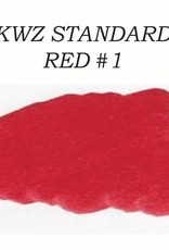 KWZ INK KWZ STANDARD BOTTLED INK 60 ML RED #1