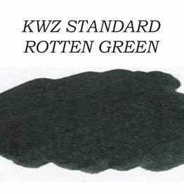 KWZ INK KWZ ROTTEN GREEN - 60ML STANDARD BOTTLED INK