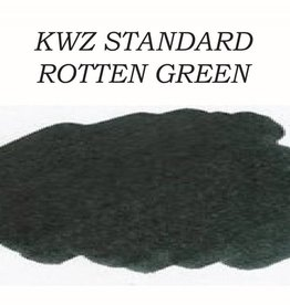 KWZ INK KWZ STANDARD BOTTLED INK 60 ML ROTTEN GREEN