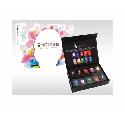 MONTEVERDE MONTEVERDE EMOTION COLLECTION - 10PC BOTTLED INK SET