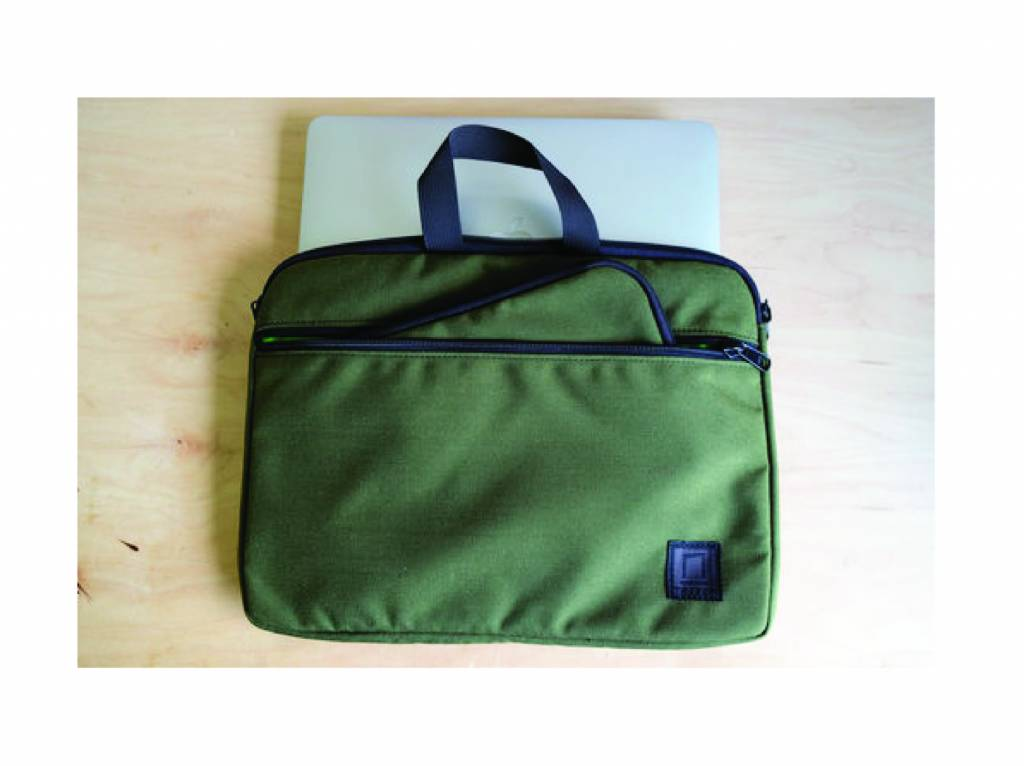 NOCK NOCK LANIER BRIEFCASE AND POUCH