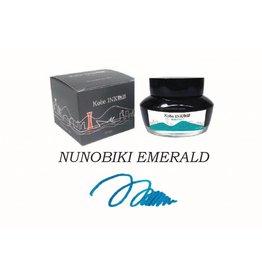 SAILOR SAILOR KOBE NO. 13 NUNOBIKI EMERALD - 50ML BOTTLED INK