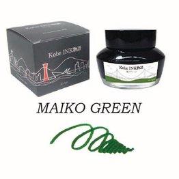 SAILOR SAILOR KOBE NO. 15 MAIKO GREEN - 50ML BOTTLED INK