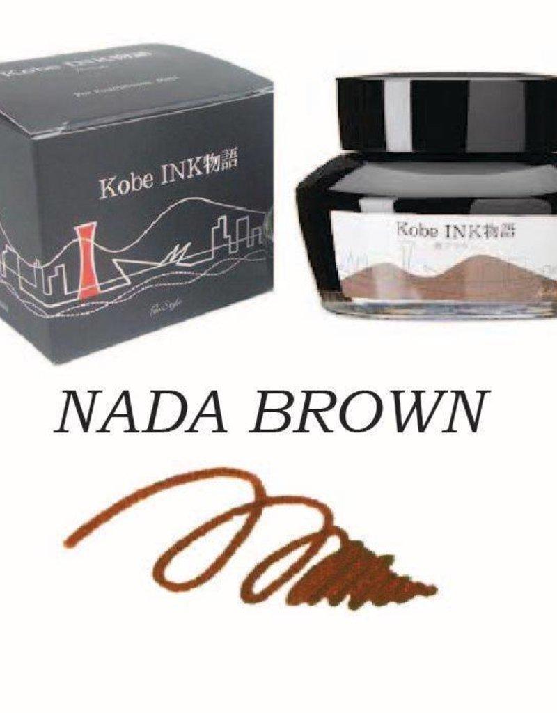 SAILOR SAILOR KOBE NO. 16 NADA BROWN - 50ML BOTTLED INK