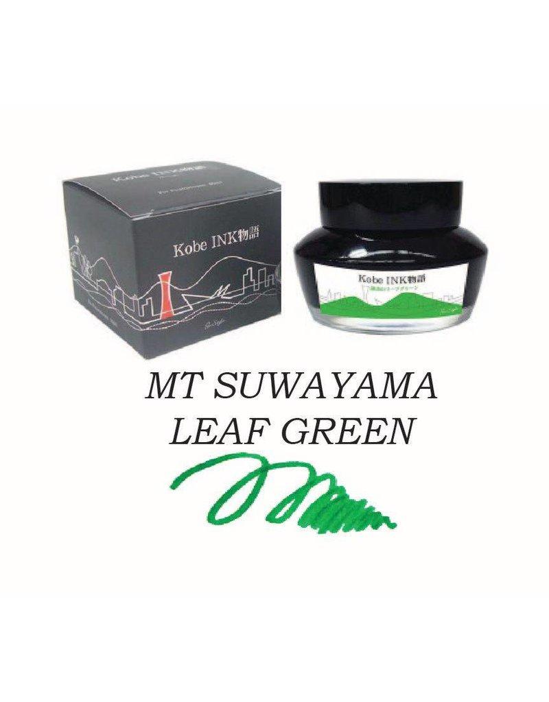 SAILOR SAILOR KOBE NO. 35 MT SUWAYAMA LEAF GREEN - 50ML BOTTLED INK
