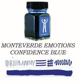 MONTEVERDE MONTEVERDE CONFIDENCE BLUE - 30ML EMOTIONS BOTTLED INK