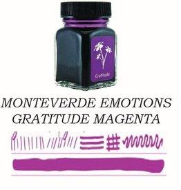 MONTEVERDE MONTEVERDE GRATITUDE MAGENTA - 30ML EMOTIONS BOTTLED INK
