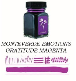 MONTEVERDE MONTEVERDE GRATITUDE MAGENTA - 30ML EMOTIONS BOTTLED INK