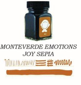 MONTEVERDE MONTEVERDE JOY SEPIA - 30ML EMOTIONS BOTTLED INK