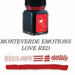 Monteverde Monteverde Love Red - 30ml Emotions Bottled Ink