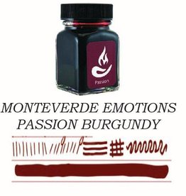MONTEVERDE MONTEVERDE PASSION BURGUNDY - 30ML EMOTIONS BOTTLED INK