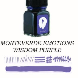 MONTEVERDE MONTEVERDE WISDOM PURPLE - 30ML EMOTIONS BOTTLED INK