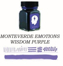 MONTEVERDE MONTEVERDE WISDOM PURPLE - 30ML EMOTIONS BOTTLED INK