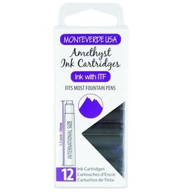 MONTEVERDE MONTEVERDE AMETHYST (GEMSTONE) - INK CARTRIDGES