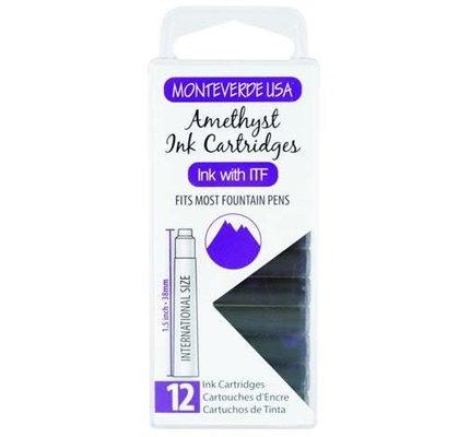 MONTEVERDE MONTEVERDE AMETHYST (GEMSTONE) - INK CARTRIDGES