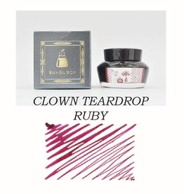 SAILOR SAILOR BUNGUBOX BOTTLED INK CLOWN TEARDROP RUBY