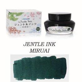 Sailor Sailor Jentle Miruai Seaweed Indigo (Colors Of Four Seasons) - 50ml Bottled Ink