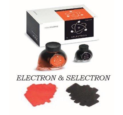 COLORVERSE COLORVERSE NO. 31 & 32 ELECTRON & SELECTRON - 65ML + 15ML BOTTLED INK