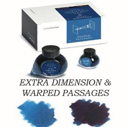 Colorverse Colorverse No. 27 & 28 Extra Dimensions & Warped Passages - 65ml + 15ml Bottled Ink