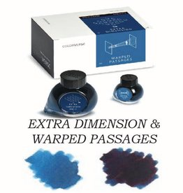 COLORVERSE COLORVERSE BOTTLED INK EXTRA DIMENSION & WARPED PASSAGES 65ML + 15ML